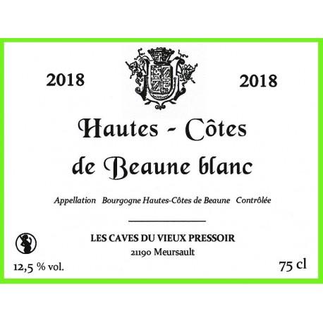 Bourgogne Hautes - Côtes de Beaune blanc 2018 en cubitainer