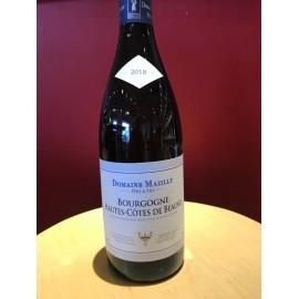 Bourgogne Hautes - Côtes de Beaune Blanc 2018 MAZILLY