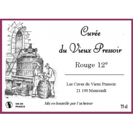 Vin ROUGE 12° en Bag in Box