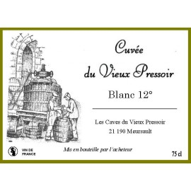 Vin  BLANC 12° en Bag in Box