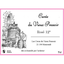 Vin ROSE 12° en cubitainer