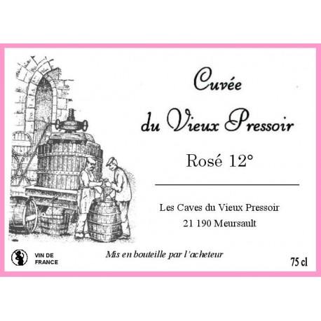 Vin ROSE 12° en cubitainer