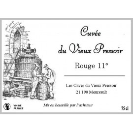 Vin ROUGE 11° en Bag in Box