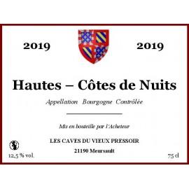 Bourgogne Hautes - Côtes de Nuits 2014 au litre