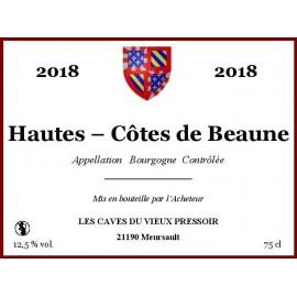 Bourgogne Hautes - Côtes de Beaune 2018 en cubitainer
