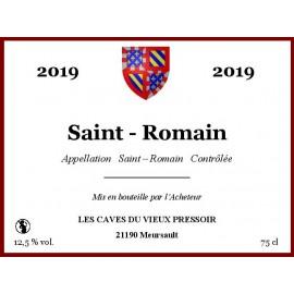 Saint - Romain rouge 2019 au litre