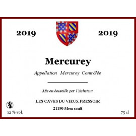 Mercurey rouge 2019 en bag in box
