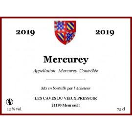 Mercurey rouge 2019 en cubitainer