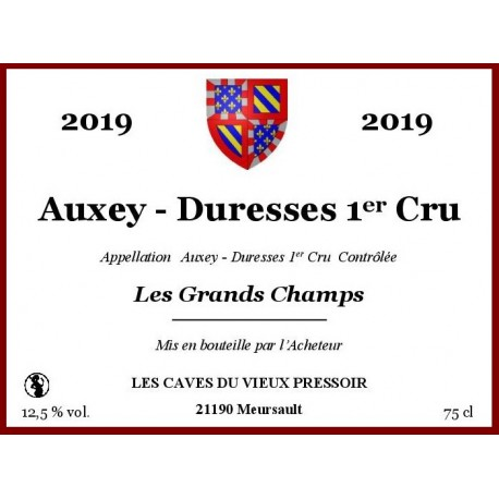 "Auxey - Duresses 1er Cru ""Les Grands Champs"" 2019 en Bag in Box"