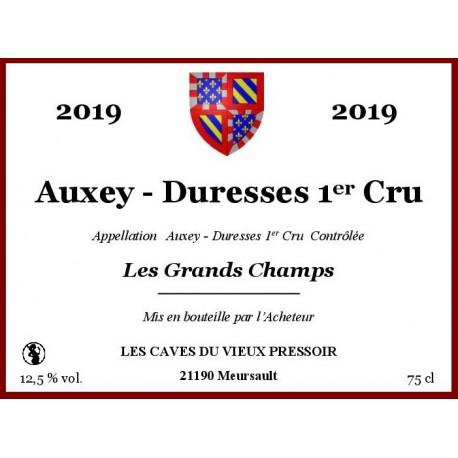 Auxey duresses 1er Cru Les Grands Champs 2019 en cubitainer