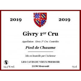 "Givry 1er Cru ""Pied de Chaume"" 2019 en Bag in Box"