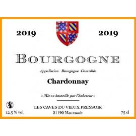 Bourgogne Chardonnay 2019 au litre