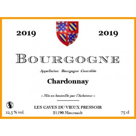 Bourgogne Chardonnay 2019 en cubitainer