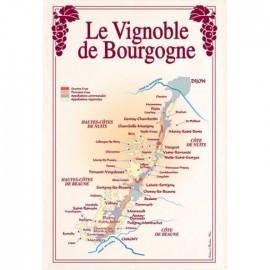 Torchons Vignoble de Bourgogne