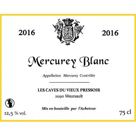 Mercurey blanc 2016 en cubitainer